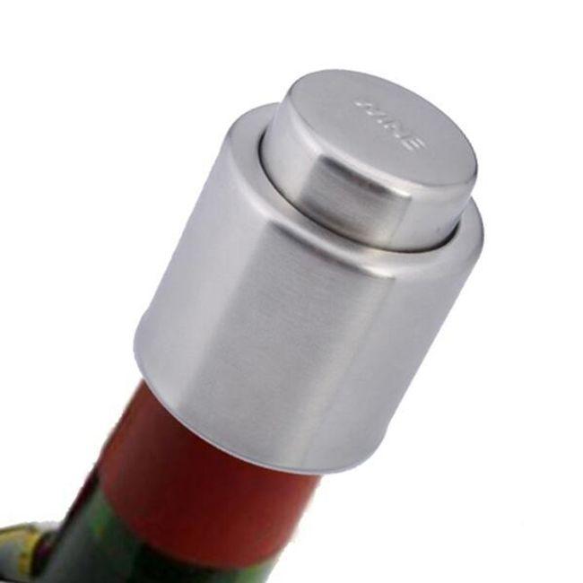 Kovová vakuová zátka na víno 1