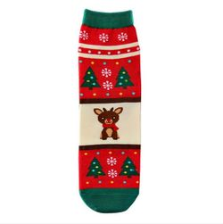 Gyerek zokni karácsonyi motívumokkal