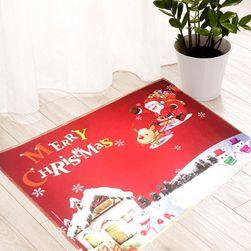Protiskluzová podložka s vánočním motivem