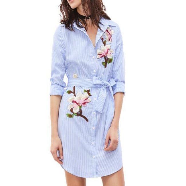 Košilové šaty Suzie 1