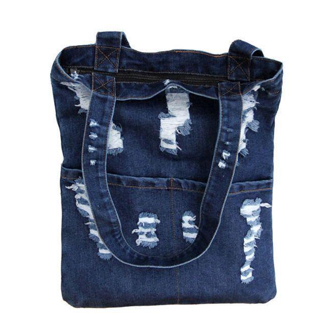 Ženska denim torba - 2 barvi 1