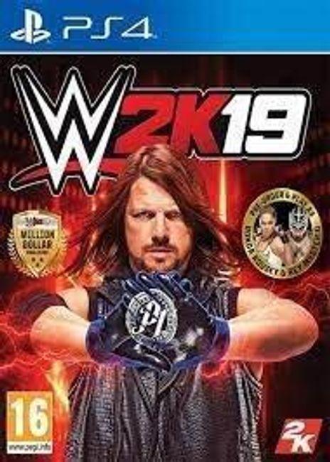 Gra (PS4) WWE 2K19 1