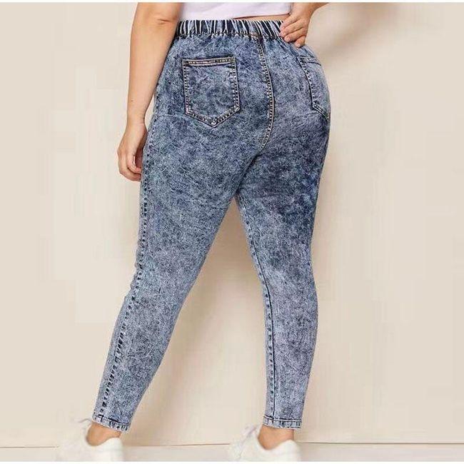 Dámské plus size kalhoty TF6796 1