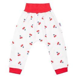 Dziecięce bawełniane spodnie dresowe RW_teplaky-cherry-Nbyo323