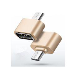 Jakościowy adapter OTG Micro USB dla Androida - 3 kolory