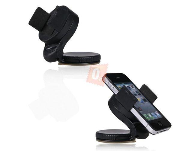 Elegantní držák na iPhone do auta s přísavkou 1