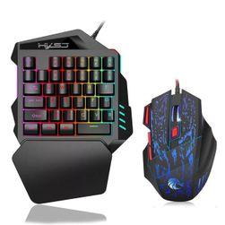 Миниатюрна мишка с клавиатура RR4