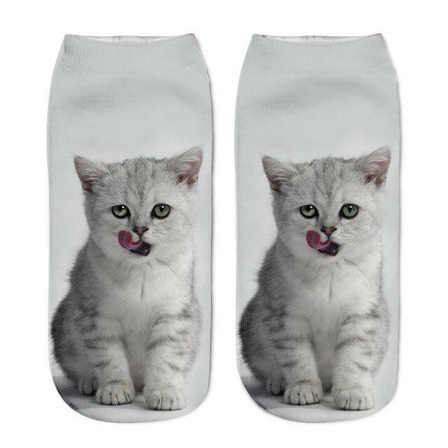 Ponožky s originálním potiskem - 8 variant 1