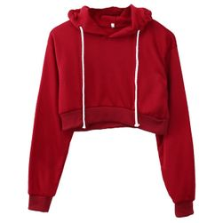 Bayan crop sweatshirt Dm45