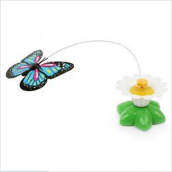 Игрушка для кошки- летающая бабочка или птичка колибри