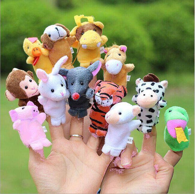 Veliki set mini ručnih životinja - 12 komada 1