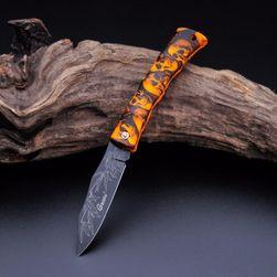 Nóż składany z atrakcyjnym uchwytem - 8 wariantów