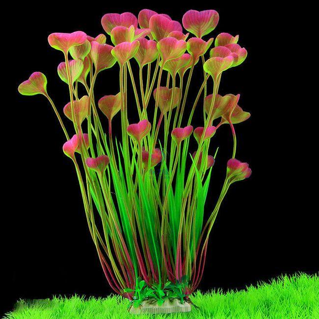 Искусственные водоросли для аквариума- 3 варианта 1