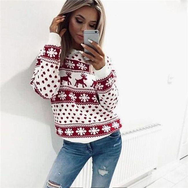 Topli džemper sa irvasima 1