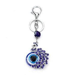 Кулон с павлином и Голубым глазом