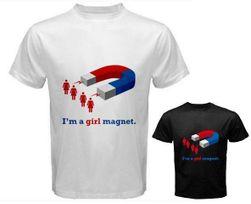 Męska koszulka Girl magnet  - 2 kolory