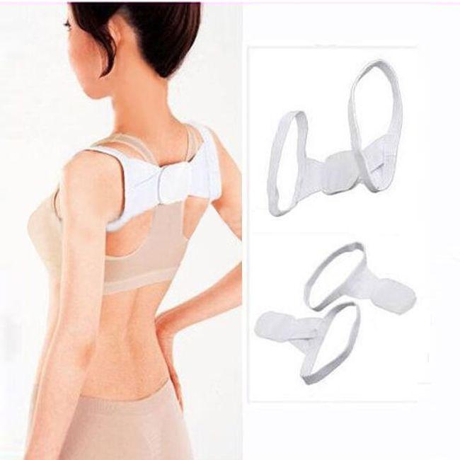 Wsparcie pleców dla lepszego trzymania ciała - białe 1