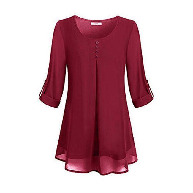 Ženska bluza sa dugmićima - 6 boja 1