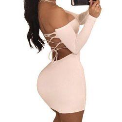 Ženska mini haljina Raelene Bijela - veličina 2
