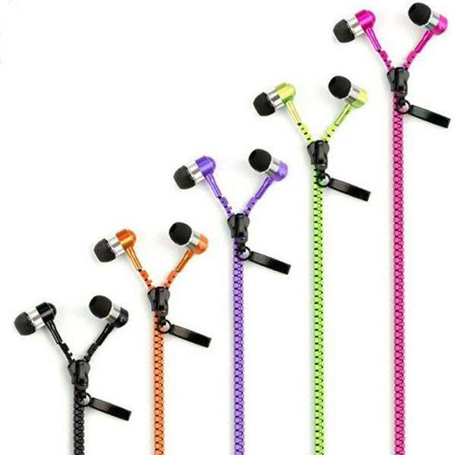 Cipzáros fejhallgató iPhone-hoz - 3 színben 1