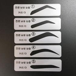 Набор шаблонов для бровей