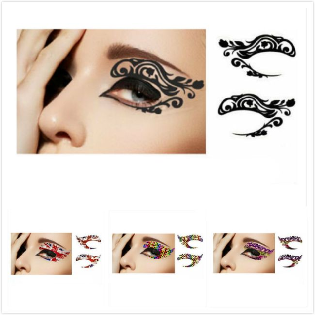 Originální obtiskávací make-up na oči 1