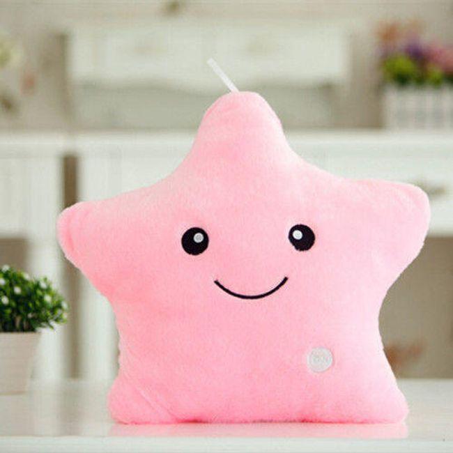 Plišasta zvezdica - roza 1