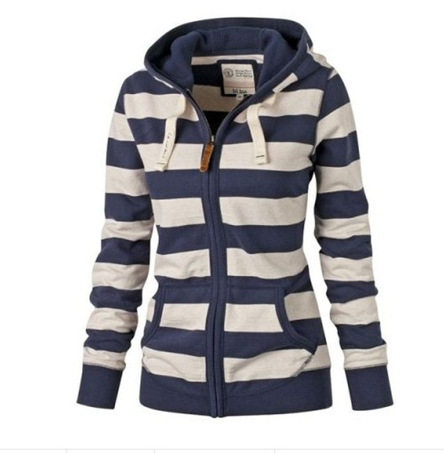 Női kapucnis pulóver Bisou