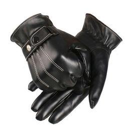 Męskie rękawice w eleganckim wykonaniu