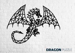 Puzzle perete dragon RA_24071