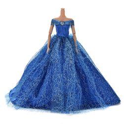 Šaty pre Barbie - 7 farieb