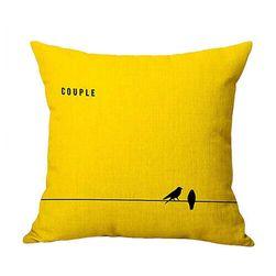 Jastuk sa žutom bojom