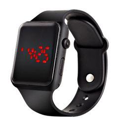 Silikonové digitální hodinky - 5 variant