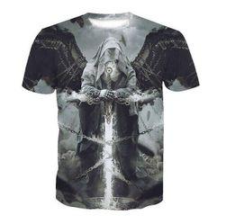 Pánské triko s krátkým rukávem Azrael