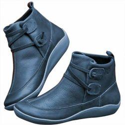 Dámské kotníkové boty Alessandra - Modrá-42