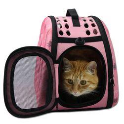 Geanta pentru transport pisica sau catel - 4 culori