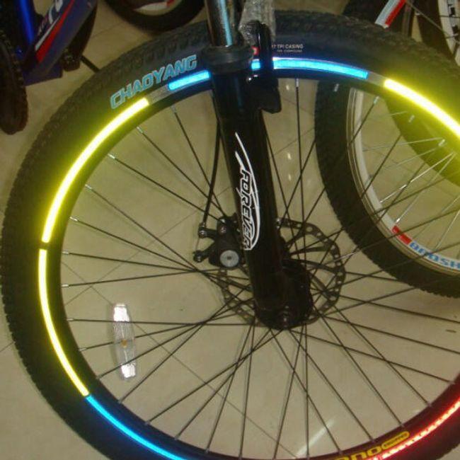 Отразителни налепящи ленти за колела 1