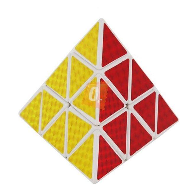 Rubikova kostka - pyramida, 4 stěny 1