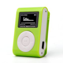 Odtwarzacz MP3 z klipsem - 5 kolorów
