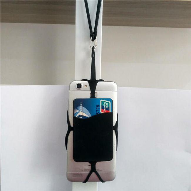 Silikonski etui za telefon okrog vratu od 3,5