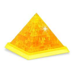 Összecsukható kristály 3D-s piramis