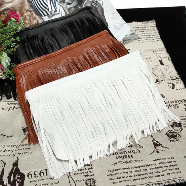Женская сумочка с бахромой - 3 цвета 1