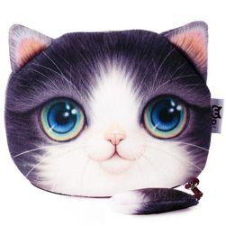 Peněženka v podobě kočičí hlavy - 9 variant