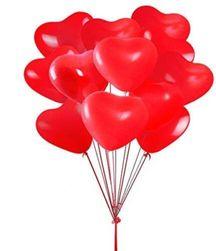Baloni u obliku srca - 20 komada