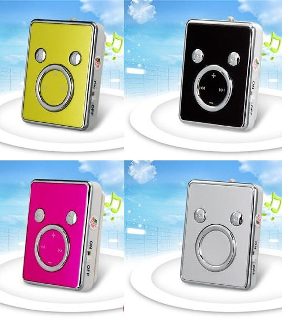 Mini MP3 odtwarzacz z klipsem na microSD karty - 5 kolorów 1