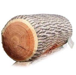 Wygodna poduszka w kształcie kłody drzewa