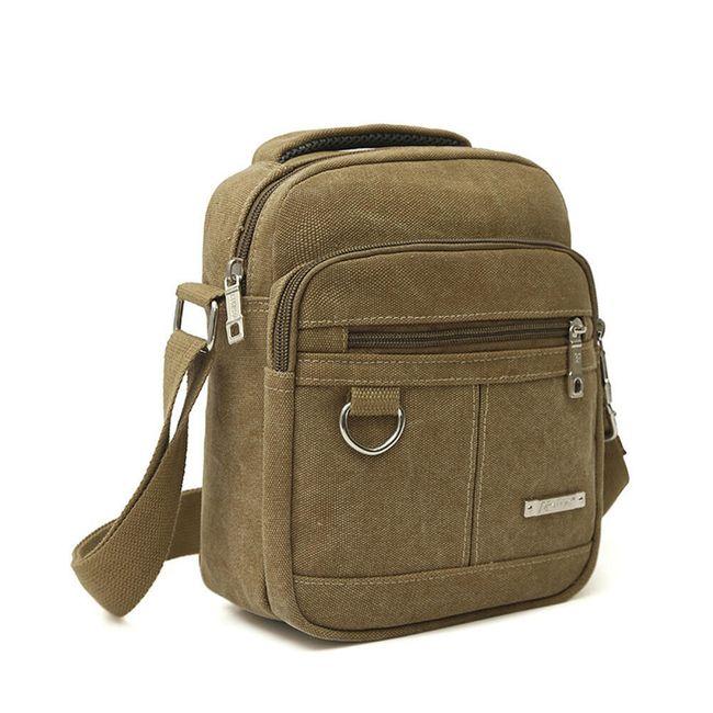 Moška platnena torbica za čez ramo - 3 različice 1