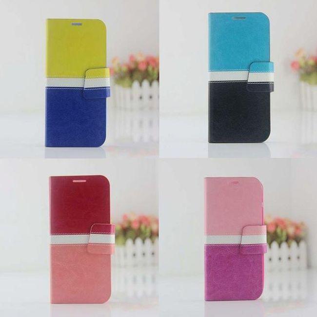 Koženkové pouzdro na Samsung Galaxy S4 I9500 - 6 barev 1