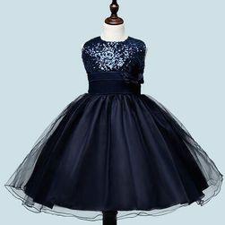 Dívčí šaty s flitry - více barev