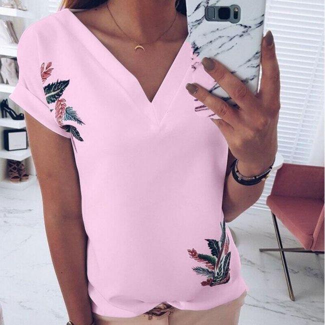 Női rövid ujjú trikó Kelsey